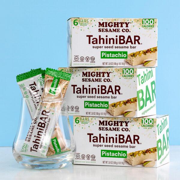 Mighty Sesame TahiniBAR Pistachio